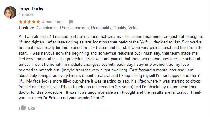 Y-lift Testimonial
